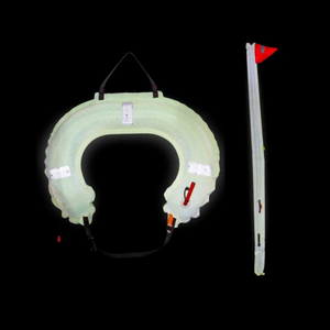 Jonbuoy Danbuoy & Horseshoe Combination Glo Lite
