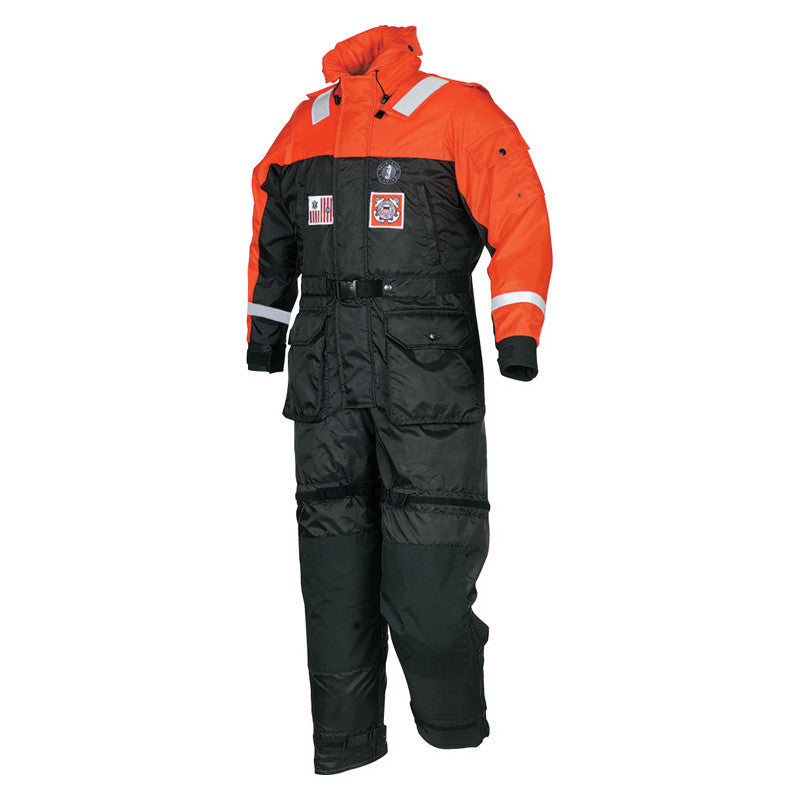 Mustang Deluxe Anti-Exposure Coverall & Worksuit - Life Raft and Survival Equipment, Inc.