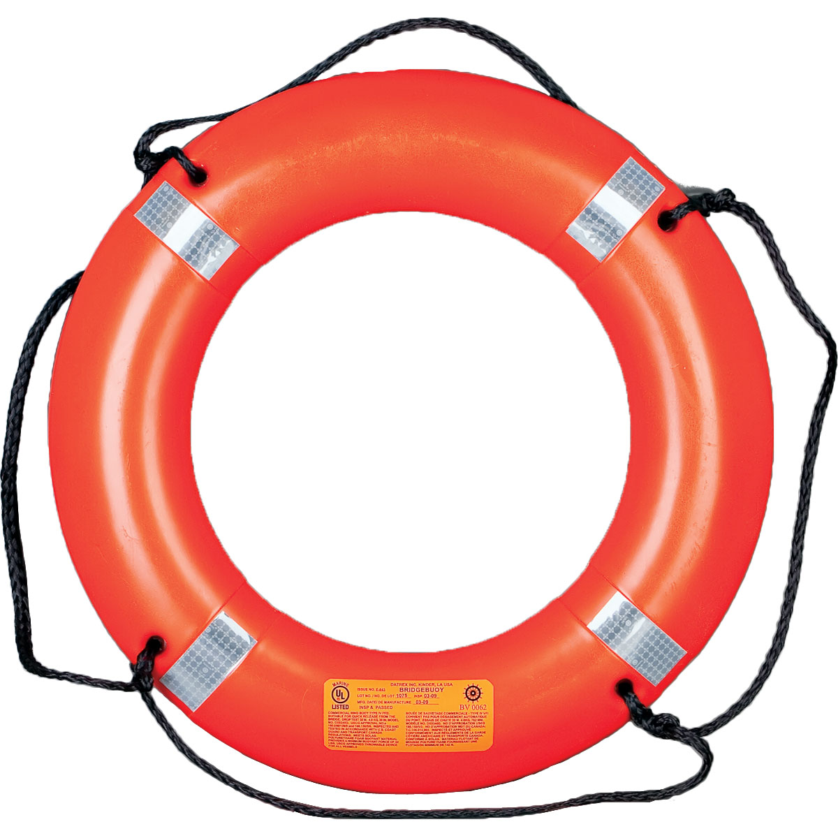 "Datrex 30"" Deckbuoy 2.5 KG USCG/SOLAS/MED/TC - Life Raft and Survival Equipment, Inc."