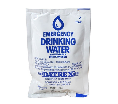 4 oz. Emergency Drinking Water