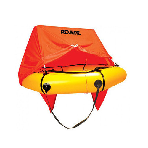 Revere Coastal Compact w/ Canopy - Life Raft and Survival Equipment, Inc.