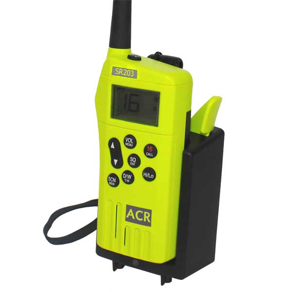 Rapid Charger Kit For SR203 VHF Handheld Survival Radio - Life Raft and Survival Equipment, Inc.