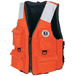 Mustang Industrial 4 Pocket Float Vest - Life Raft and Survival Equipment, Inc.