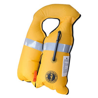 Mustang Inflatable Work Vest HIT (Autohydrostatic) - Life Raft and Survival Equipment, Inc.