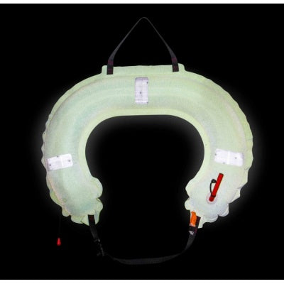 Jon Buoy Glo Lite Inflatable Horseshoe