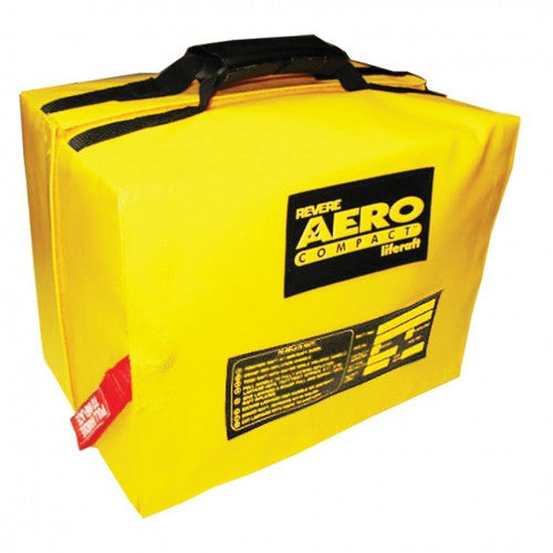 Revere Aero Compact Liferaft w/ Canopy - Life Raft and Survival Equipment, Inc.