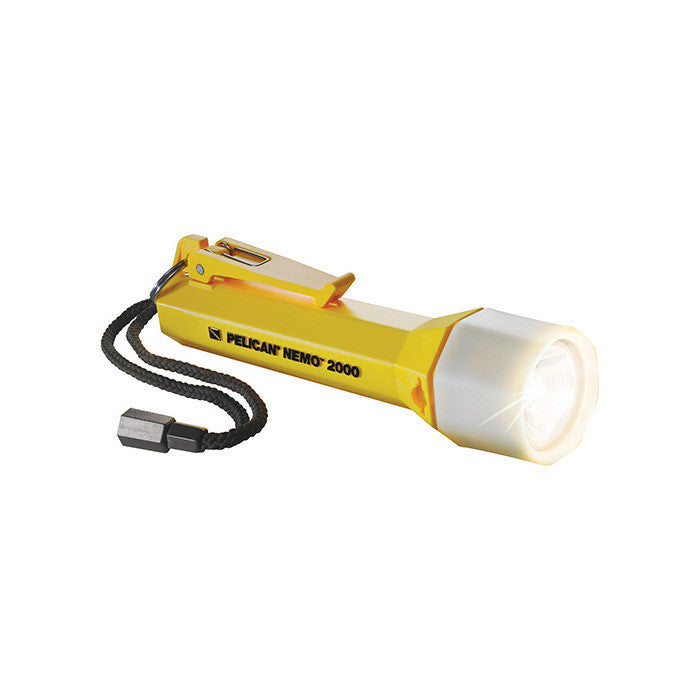 Pelican Nemo™ 2000N Flashlight - Life Raft and Survival Equipment, Inc.