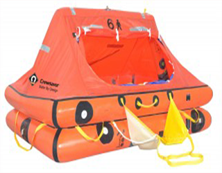Crewsaver Ocean Recreational ISO/ORC Approved Liferafts