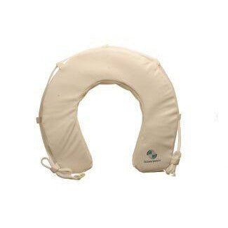 Ocean Safety White Horseshoe Buoy - Life Raft and Survival Equipment, Inc.
