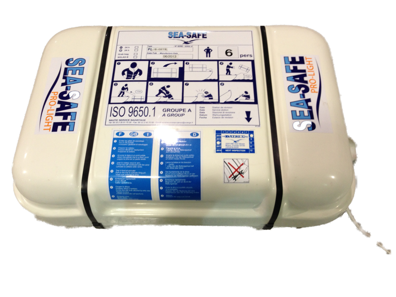 SEA-SAFE Pro-Light Recreational Coastal Life Raft - Life Raft and Survival Equipment, Inc.