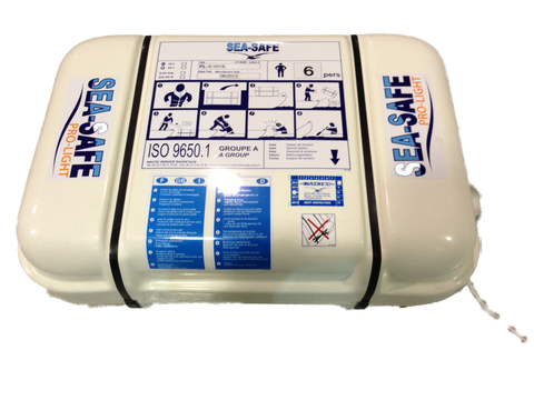 SEA-SAFE Pro-Light Recreational Coastal Life Raft