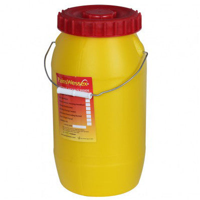 Pains Wessex Poly Bottle - Life Raft and Survival Equipment, Inc.