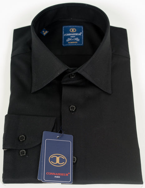 Connaisseur - Black Slim Fit dress Shirt