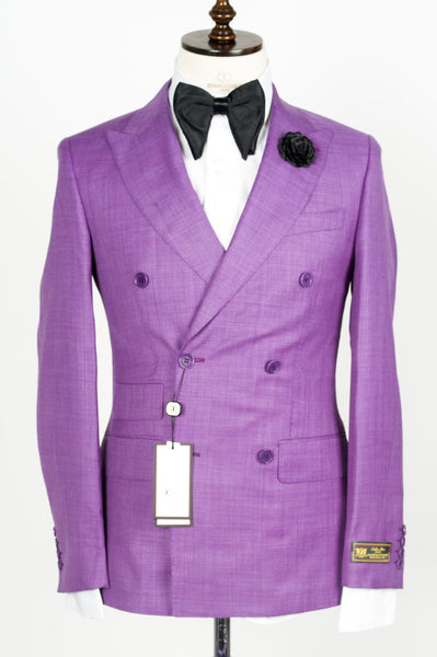 Connaisseur - Lavender Double Breasted Slim fit suit