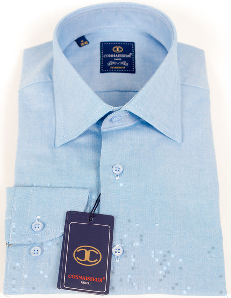 Connaisseur - Sky blue Slim Fit dress Shirt