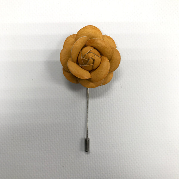 Orange  Lapel Flower