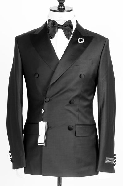 Connaisseur - Black Double Breasted tuxedo