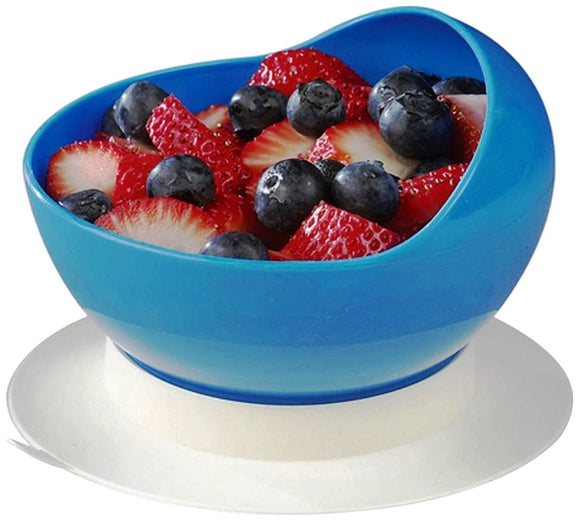 Scooper Bowl with Suction Cup Base