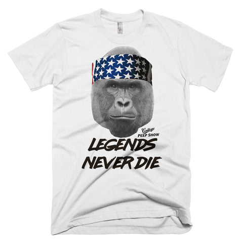 Harambe Legends Never Die Tee