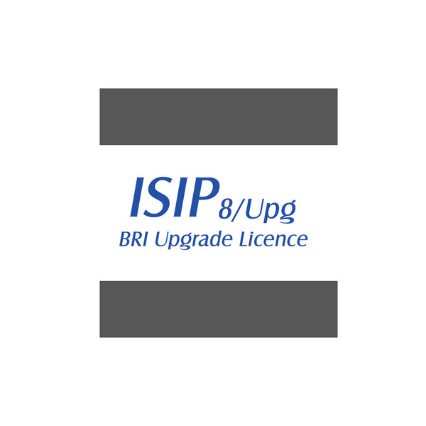 BRI - ISDN Basic Rate Interface Upgrade License