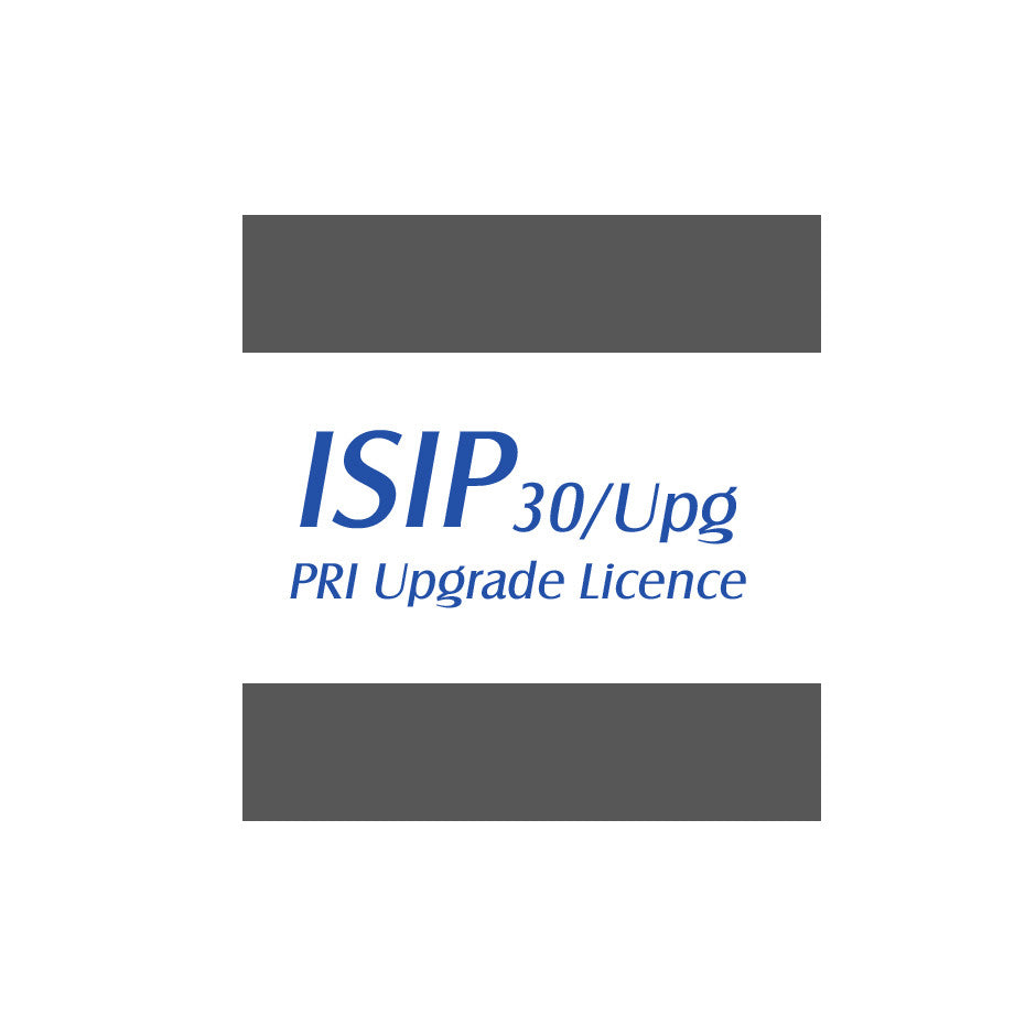 PRI - ISDN Primary Rate Interface Upgrade License