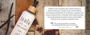 Isola Body Lotion Vegan Natural Cruelty Free