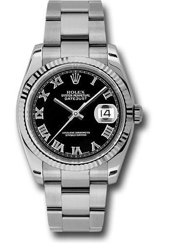Rolex Oyster Perpetual Datejust 36 Watch 116234 bkro