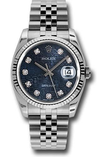 Rolex Oyster Perpetual Datejust 36 Watch 116234 bljdj
