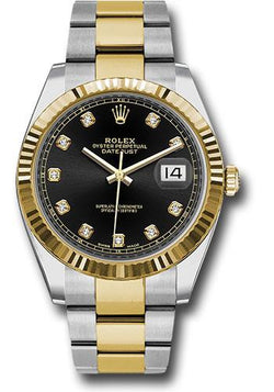 Rolex Oyster Perpetual Datejust 41 Watch 126333 bkdo