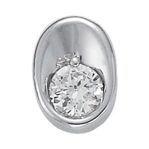 1/2 ct tw GIA Certified Diamond Solitaire Pendant with F Color VS Clarity Diamond