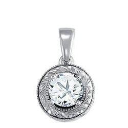 3/4 ct tw GIA Certified Diamond Solitaire Pendant with F Color VS Clarity Diamond