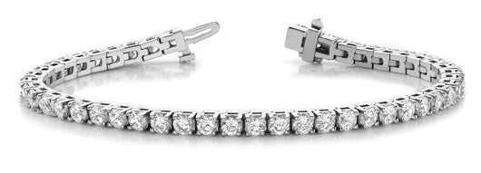 4 ct Diamond Bracelet with F Color VS Clarity Diamonds