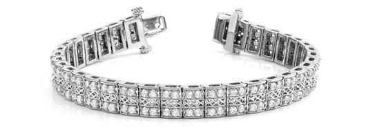 3 ct Diamond Bracelet with F Color VS Clarity Diamonds