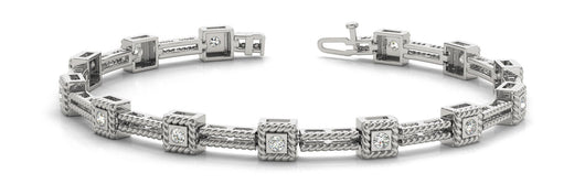 1/4 ct Diamond Bracelet with F Color VS Clarity Diamonds