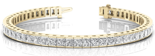4 7/8 ct Diamond Bracelet with F Color VS Clarity Diamonds