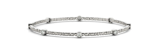 1/2 ct Diamond Bracelet with F Color VS Clarity Diamonds