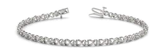 1/3 ct Diamond Bracelet with F Color VS Clarity Diamonds