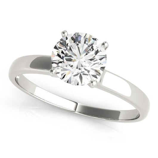 Solitaire Engagement Ring with F Color VS Clarity GIA Certified Diamond