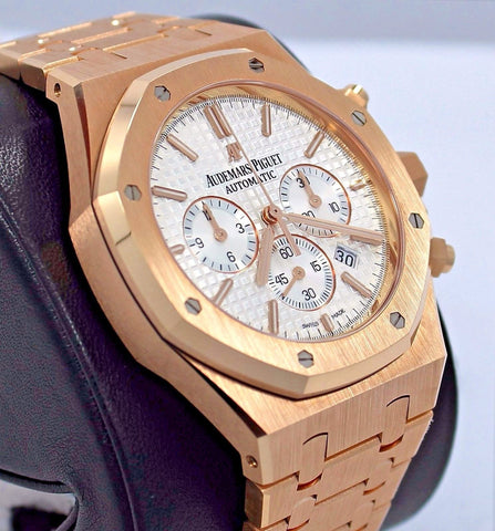 Audemars Piguet Royal Oak 41mm Chrono 18K Rose Gold Unworn