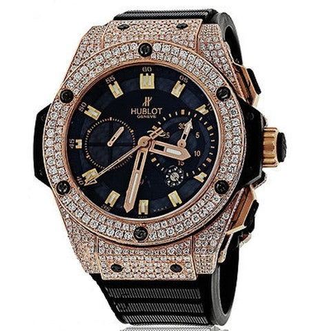 Hublot Diamond King Power Rose Gold Automatic 48mm