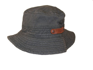 Floppy hat | Angler hat | Summery bucket hat in cotton sun protection - OUT OF AUSTRALIA | Kakadu Traders Australia