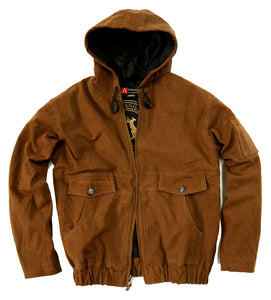 Winter | Leisure time Outdoor | James jacket with hood and zip - OUT OF AUSTRALIA | Kakadu Traders Australia