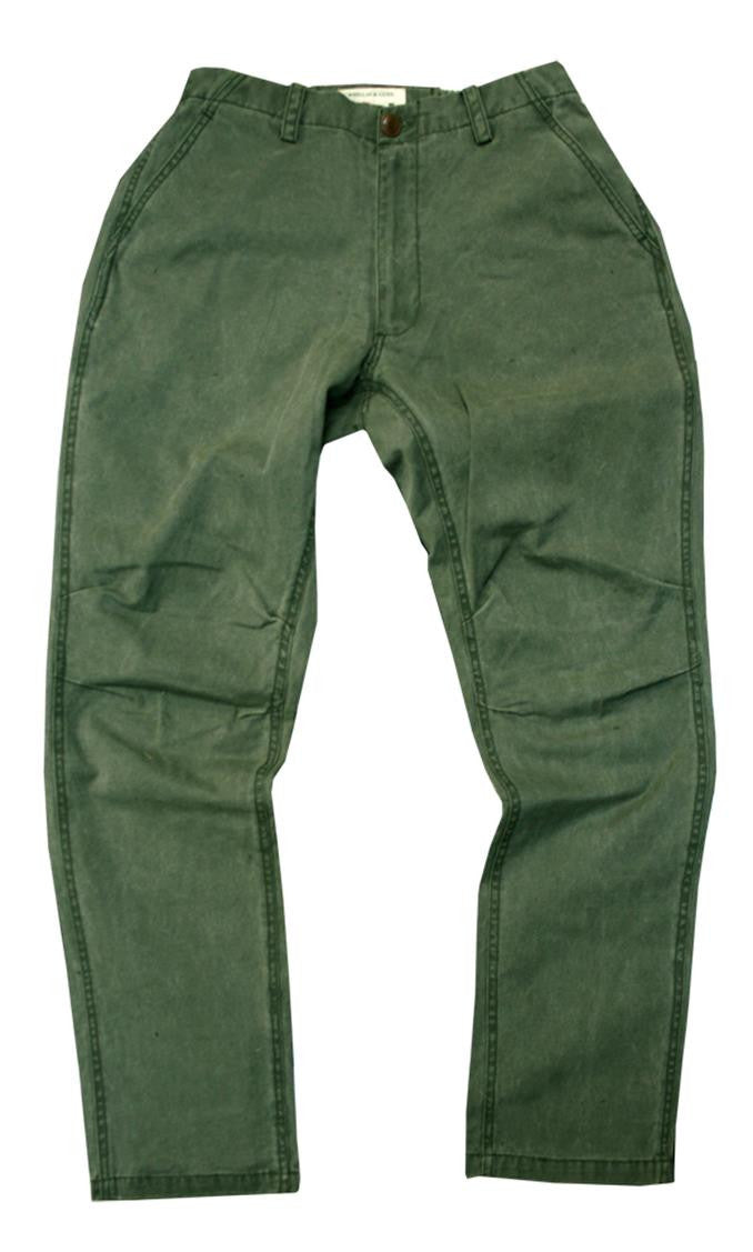 Outdoor | Leisure time Chino pants Mud Pants with flexible waistband made of robust canvas - OUT OF AUSTRALIA | Kakadu Traders Australia
