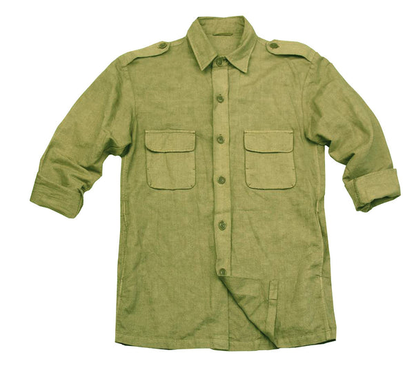 Safari | Outdoor Shirt- Herrenhemd aus Baumwoll-Leinen | Australian Style - OUT OF AUSTRALIA | Kakadu Traders Australia