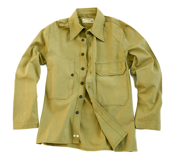 Overshirt | Outdoor | Herrenhemd- Australian Style in khaki- Sonderposten - OUT OF AUSTRALIA | Kakadu Traders Australia