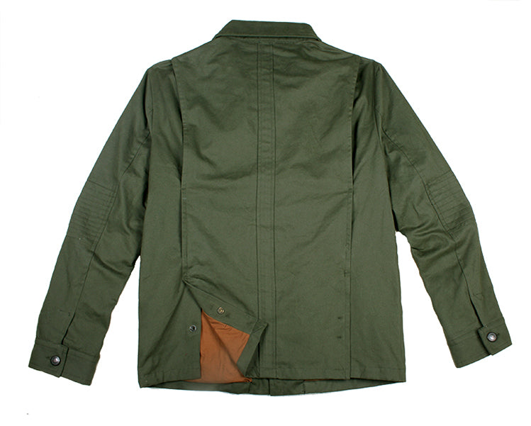 Australien Style- Moderne Outdoor | Herrenjacke Field Jacket in der Farbe grün - OUT OF AUSTRALIA | Kakadu Traders Australia