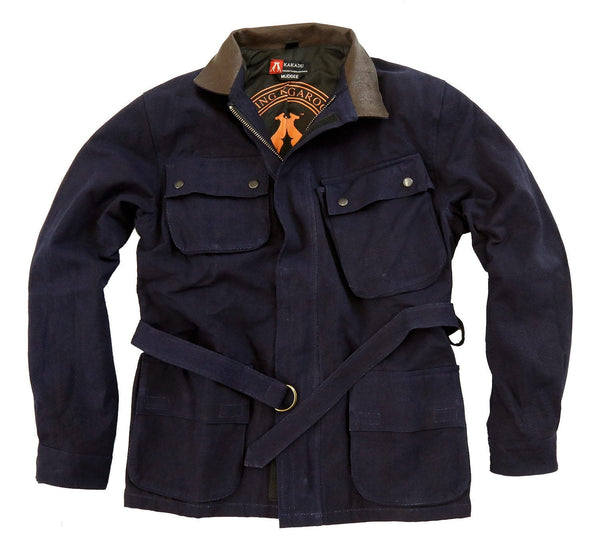 Biker | Outdoor Herrenjacke Mudgee aus robustem Canvas - OUT OF AUSTRALIA | Kakadu Traders Australia