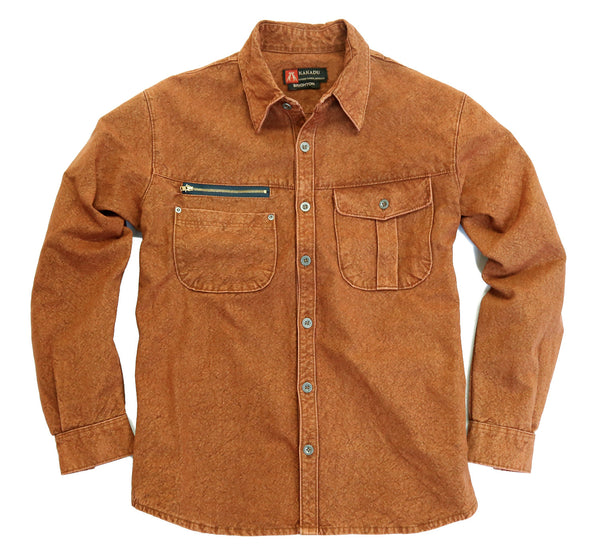 Australia Style Outdoor | Leisure Shirt Brighton with Zipped Pocket - Outpost - OUT OF AUSTRALIA | Kakadu Traders Australia