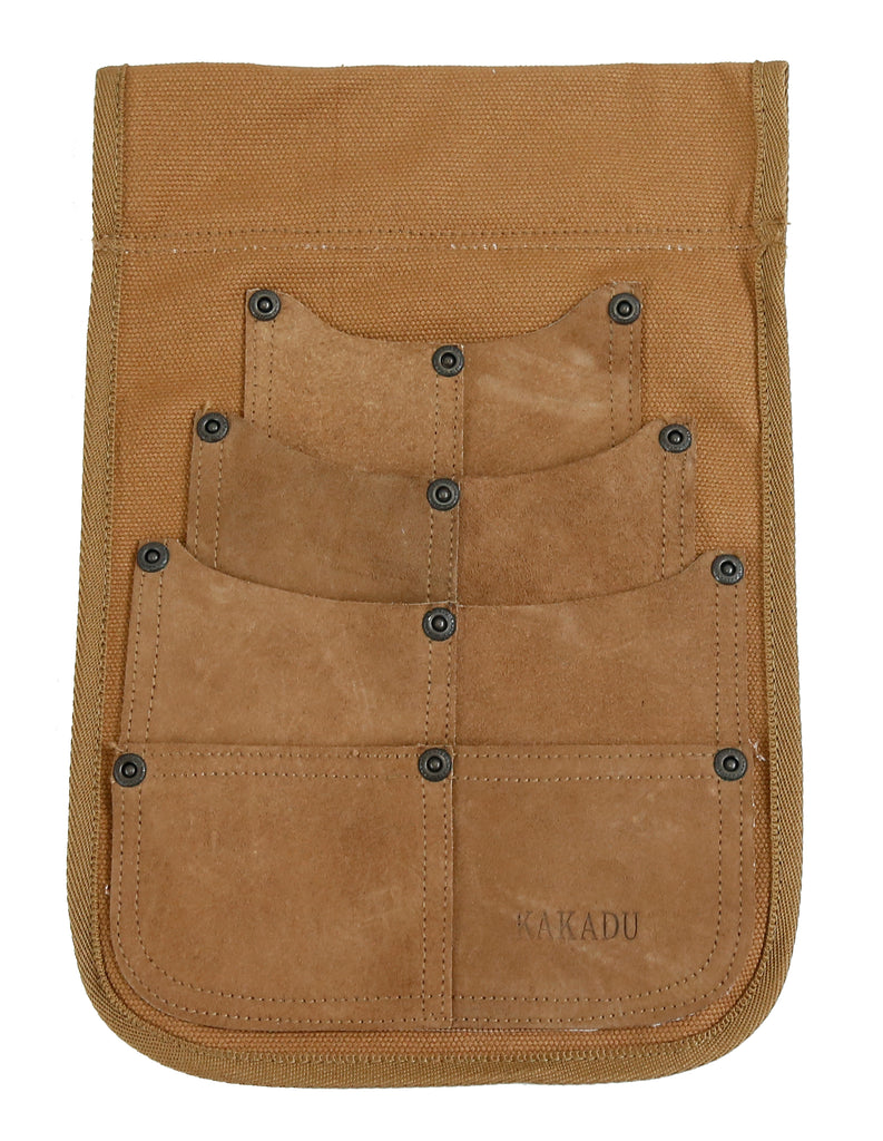 Belt bag | Nail bag | Canvas and Leather Utility Holster - OUT OF AUSTRALIA | Kakadu Traders Australia