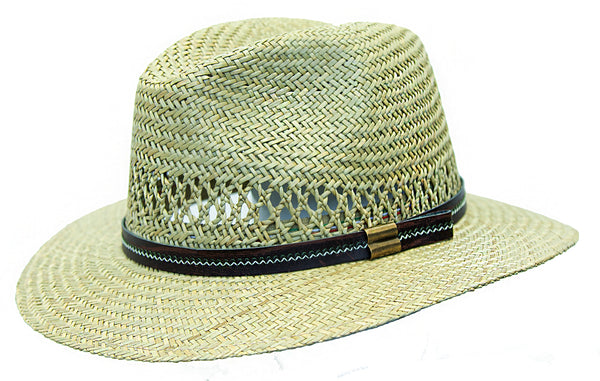 Hamilton Traveler | Light summer hat made of braided straw - made in Italy - OUT OF AUSTRALIA | Kakadu Traders Australia